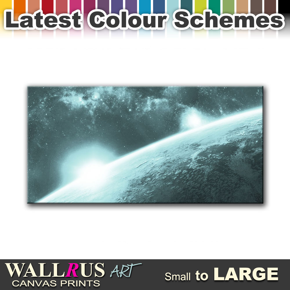 Fantasy SPACE & SCIENCE Canvas Print Framed Photo Picture ...