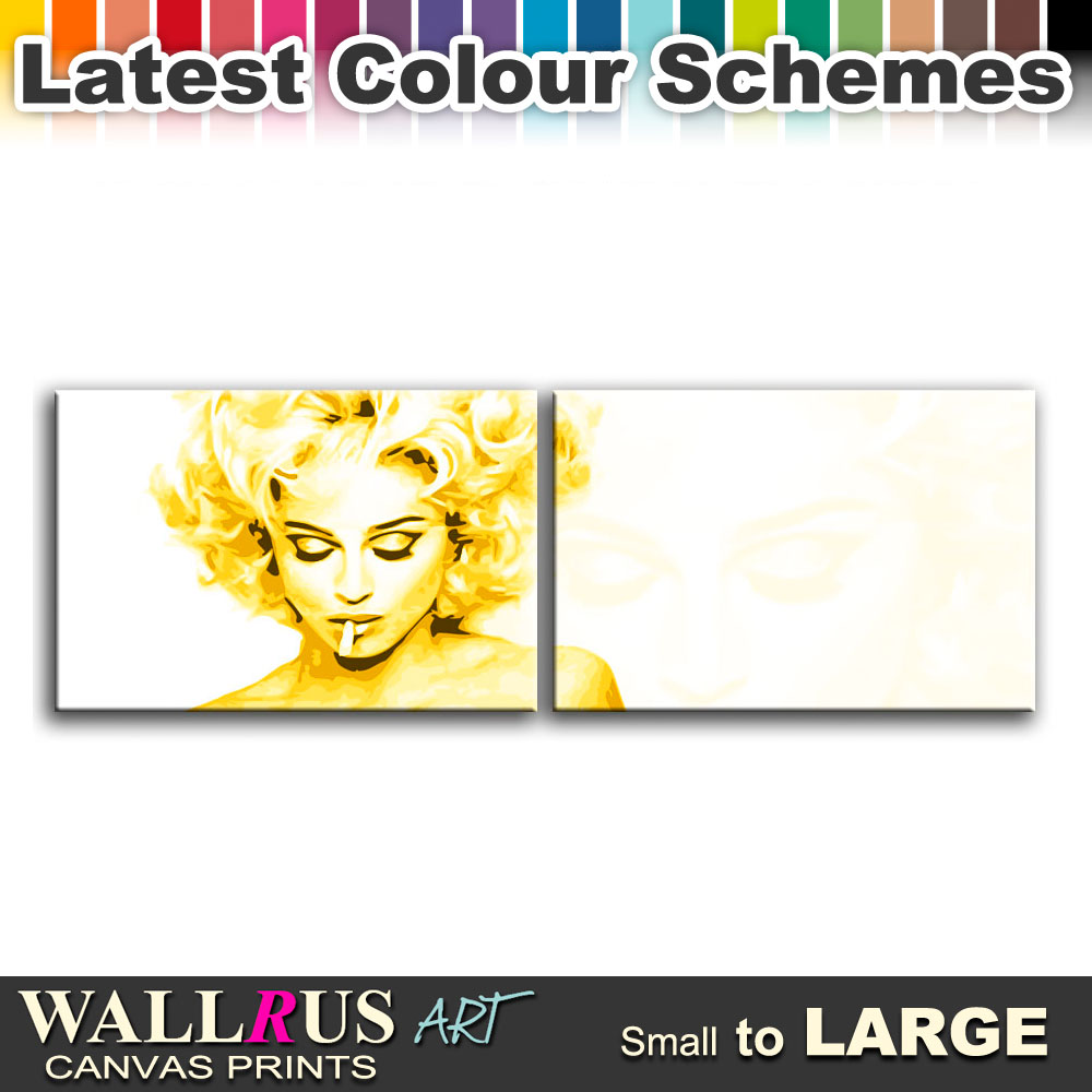 Madonna Bad Girl Music Icon Canvas Print Framed Photo Picture Wall ...