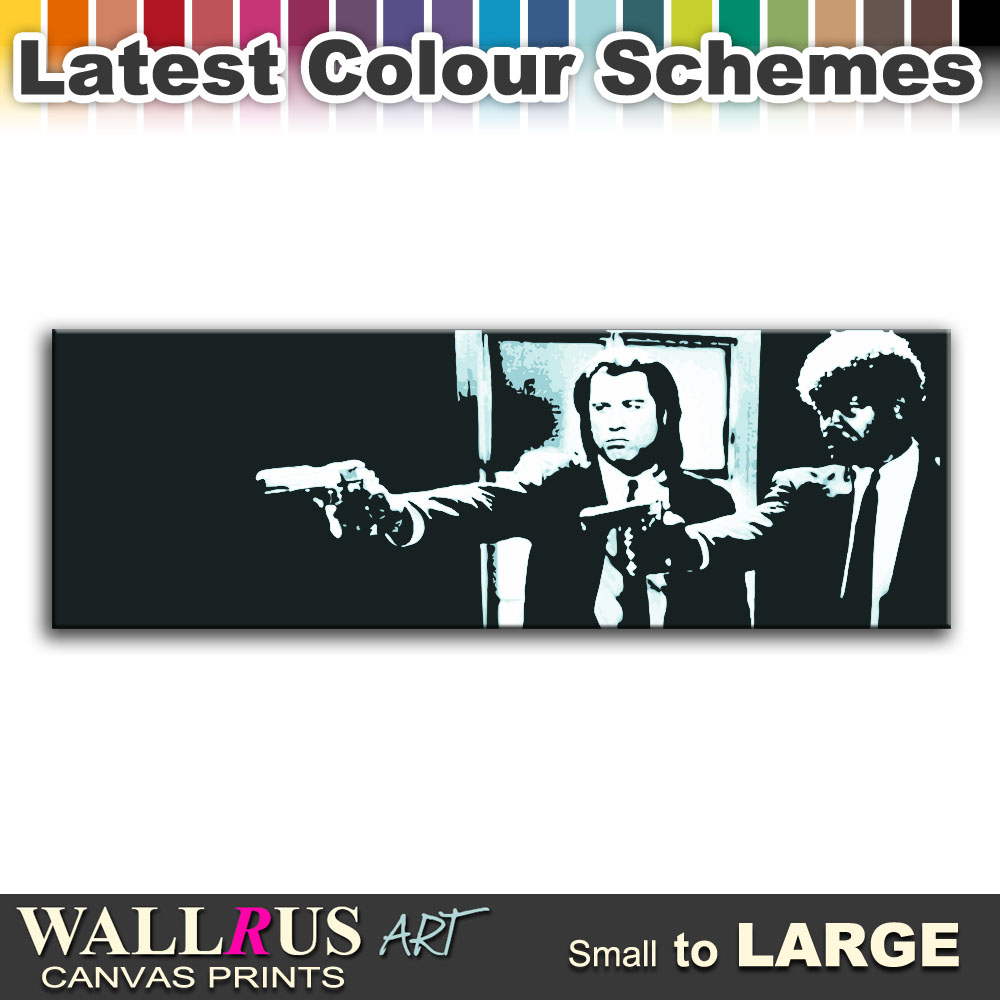 Pulp Fiction Movie Canvas Print Framed Photo Picture Wall Artwork WA